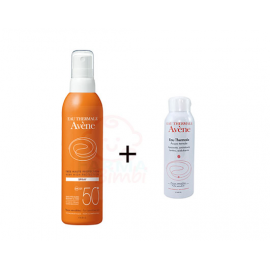 Avene Spray SPF 50+, spray da 200 ml e acqua termale spray da 50 ml in omaggio