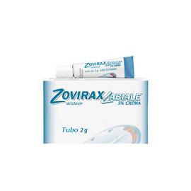 Zovirax Labiale 5% Crema, tubo da 2 gr
