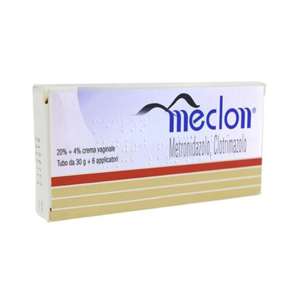 Meclon Crema Vaginale, tubo da 30gr + 6 applicatori