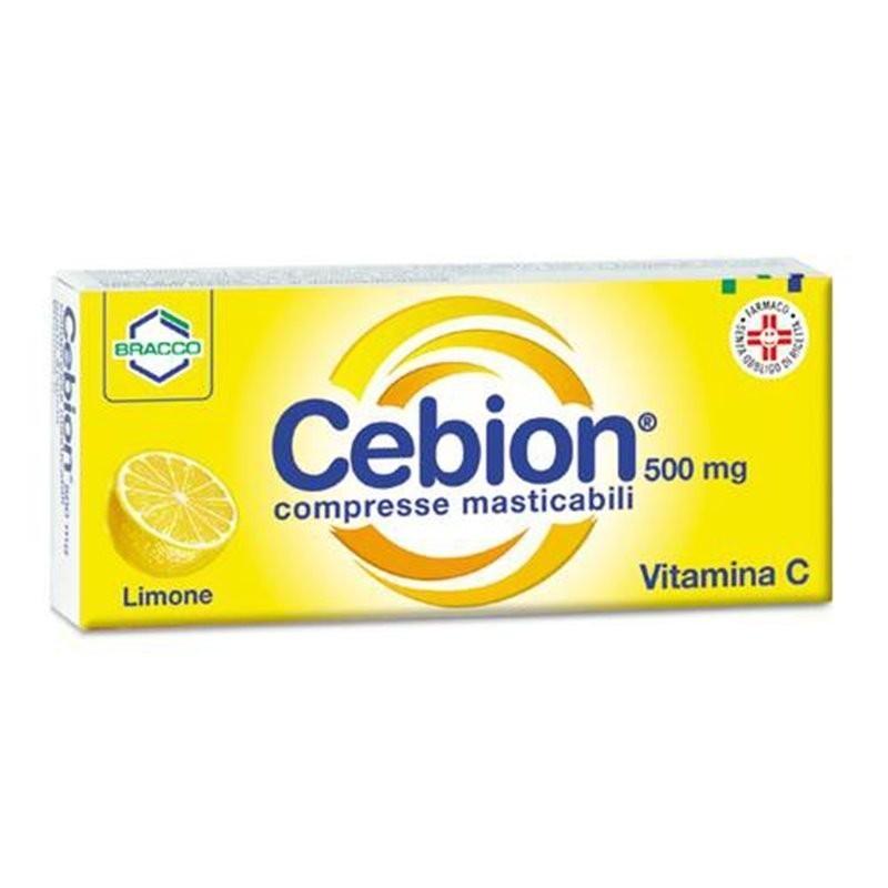Cebion Compresse Masticabili, 20 compresse gusto limone