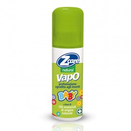 ZCare Natural Vapo Baby, flacone da 100 ml - Spray naturale antizanzara