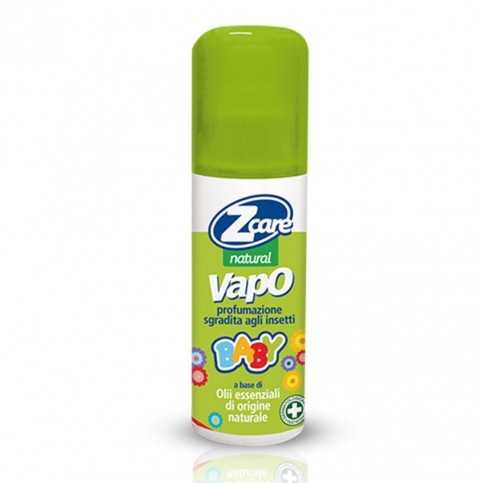 ZCare Natural Vapo Baby, flacone da 100ml - Spray naturale antizanzara