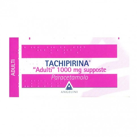 Tachipirina Adulti 1000 mg, 10 supposte