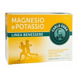 Magnesio e Potassio Carlo Erba, confezione da 20 bustine