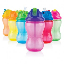 Nuby Borraccia No-Spill Mega Flip-It da 355ml 12+ mesi