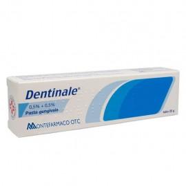 Dentinale Pasta Gengivale, tubo da 25 gr