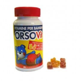 Orsovit Vitamine per Bambini, Flacone da 60 caramelle senza glutine