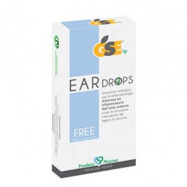 GSE Ear Drops Free, 10 pipette da 0,3 ml