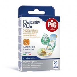 Pic Delicate Kids, 20 cerotti medi per bambini