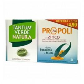 Tantum Verde Natura, 15 pastiglie eucaliptolo e miele
