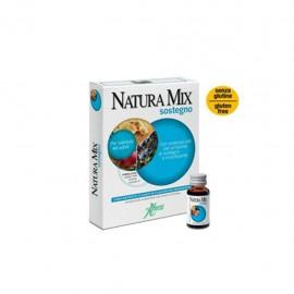 Aboca Natura Mix Sostegno Concentrato Fluido, 10 flaconcini in vetro da 15 gr