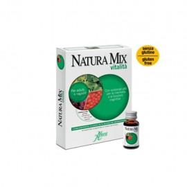 Aboca Natura Mix Vitalità Concentrato Fluido, 10 flaconcini in vetro da 15 gr