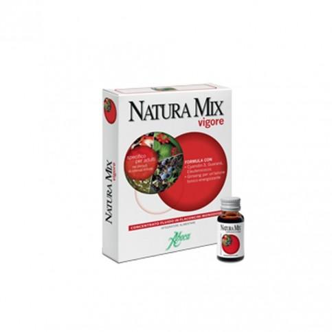 Natura Mix Vigore Concentrato Fluido, 10 flaconcini