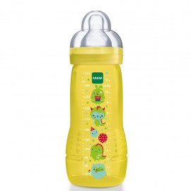 MAM Baby Bottle, biberon da 330ml 4+ mesi - Colori assortiti