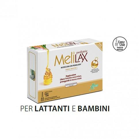 ABOCA MELILAX PEDIATRIC 6 Microclismi monouso da 5g ciascuno
