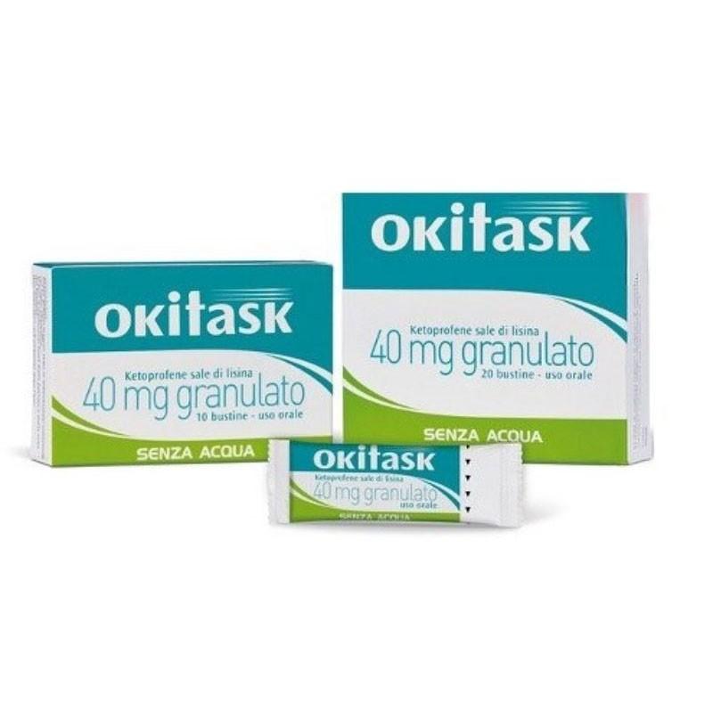 OKITASK 40 mg granulato 20 bustine orosolubili