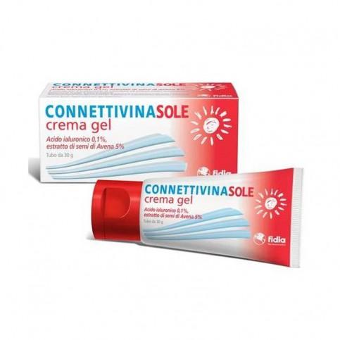 Connettivina Sole, crema-gel da 30gr o spray da 50ml