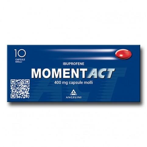 Momentact, confezione da 10 capsule molli