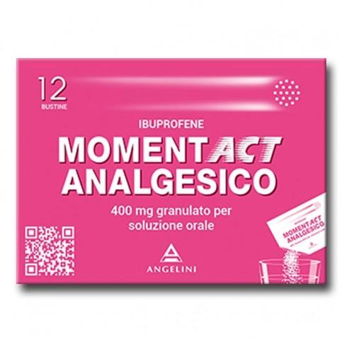 MOMENTACT ANALGESICO, confezione da12 bustine