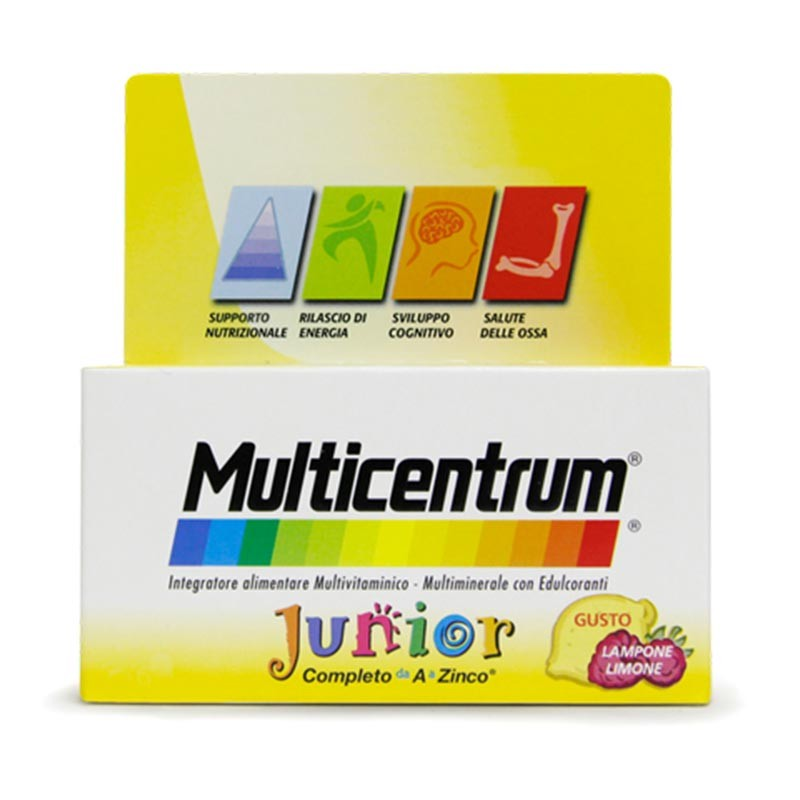 Multicentrum Junior, 30 compresse masticabili
