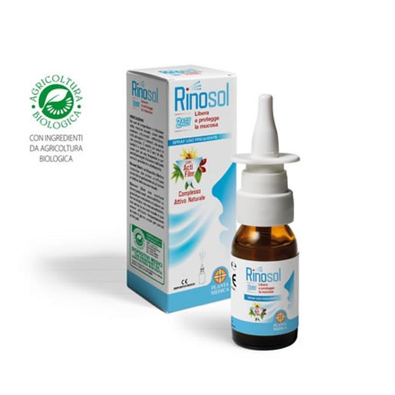 Planta Medica RINOSOL 2 ACT, Flacone 15ml con nebulizzatore spray