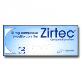 Zirtec 10 mg, 7 compresse rivestite con film