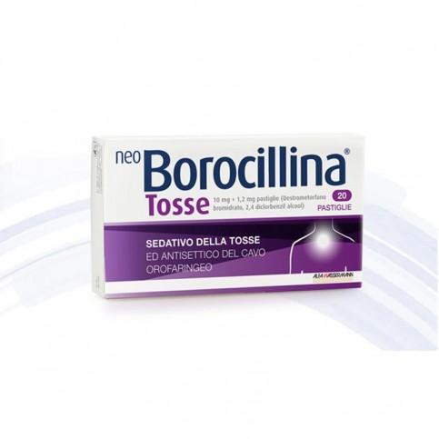 NeoBorocillina Tosse, 20 pastiglie da sciogliere in bocca