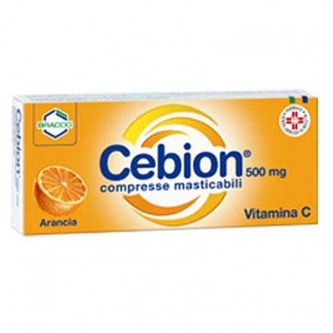 Cebion Compresse Masticabili,  20 compresse gusto arancia