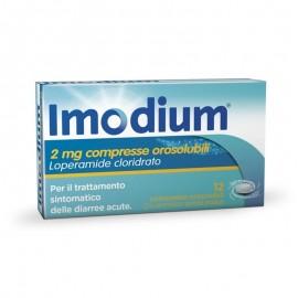 Imodium Orosolubile, 12 compresse