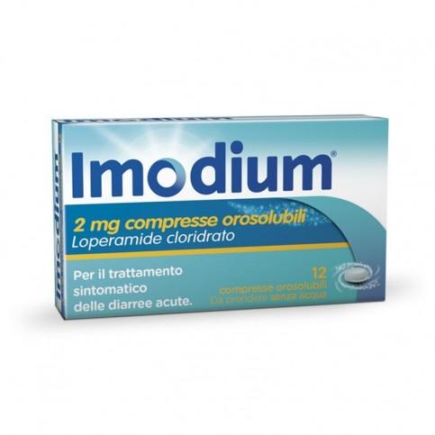 Imodium Orosolubile, 12 sono compresse