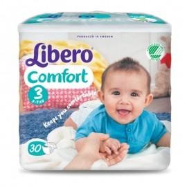 LIBERO COMFORT Taglia 3, Busta con 30 pannolini