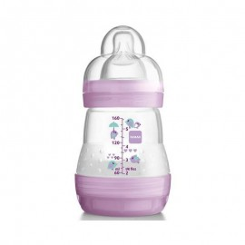 MAM First Bottle, biberon da 160ml 0+ mesi - Colori assortiti