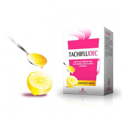 Tachifludec Miele e Limone, 10 bustine da sciogliere in acqua