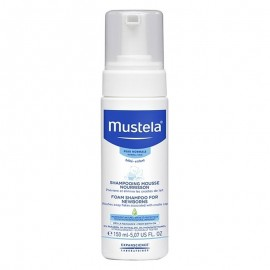 Mustela Shampoo Mousse, flacone da 150 ml