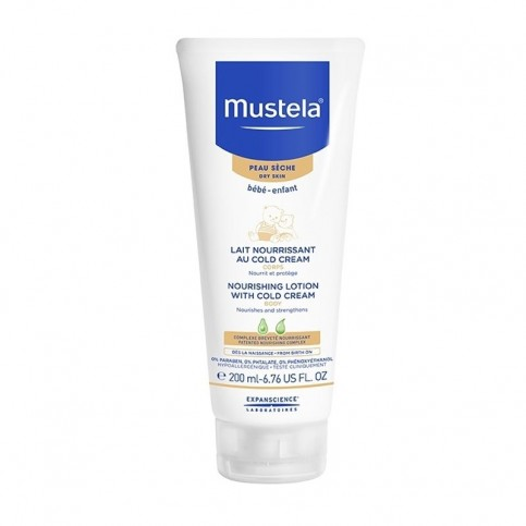 Mustela Latte Nutriente alla Cold Cream, tubo da 200ml