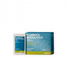 Fluimucil Mucolitico 200mg, 30 bustine