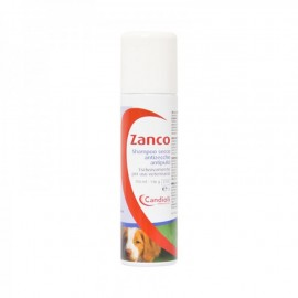 Zanco Shampoo Secco Antiparassitario, flacone spray da 150ml
