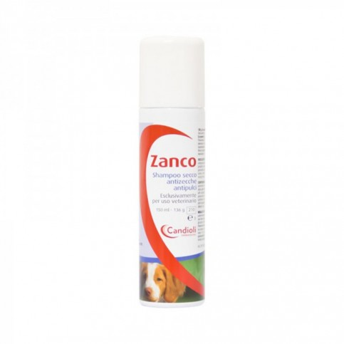 Zanco Shampoo Secco, flacone spray da 150ml