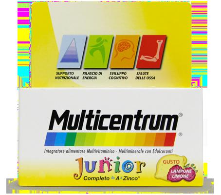 Multicentrum Junior, 30 compresse masticabili