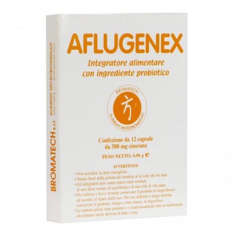 Aflugenex Bromatech, confezione da 12 capsule