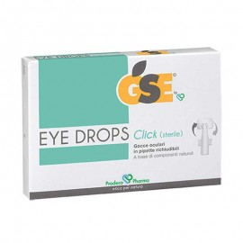 GSE Eye Drops Click, 10 pipette richiudibili