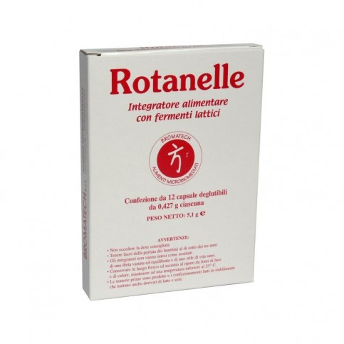 Rotanelle Bromatech, Blister da 12 capsule