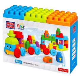 Fisher Price Impara Con Il Treno - First Builders Mega Bloks