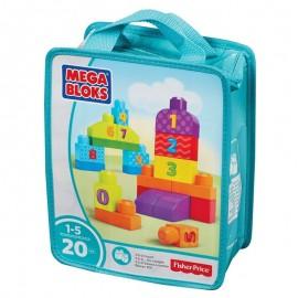 Fisher Price Mega Bloks Sacca 123 Conta First Builders