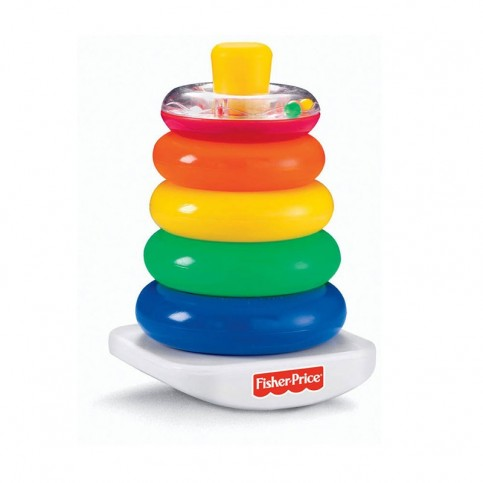 Fisher Price Nuova Piramide 5 Anelli
