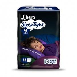 Libero Night Comfort M - 22-37 kg - 14 pannolini notte a mutanda