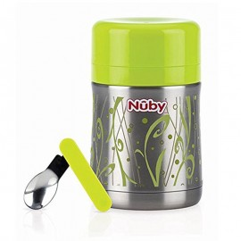 Nuby Portavivande termico in acciaio inox - 4 mesi+, 450 ml