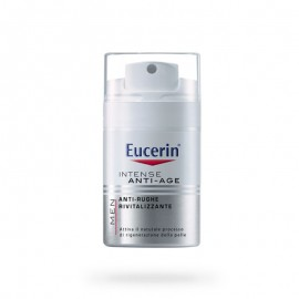 Eucerin MEN Intense Anti-Age Crema Uomo Antirughe Rivitalizzante, 50 ml