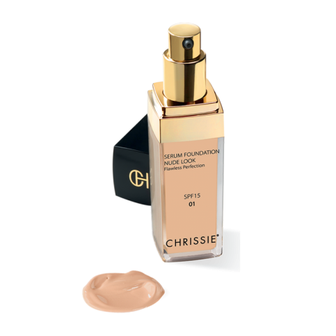Chrissie Siero Fondotinta Nude Look, 30ml