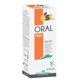 GSE Oral Free Spray, flacone da 20 ml in eco-spray